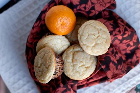 sweet orange muffins