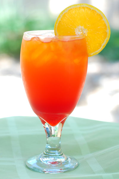 Cherry orange sunrise recipe