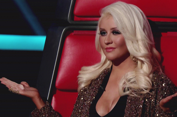 Christina Aguilera apologizes to Tony Lucca