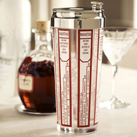 recipe glass cocktail shaker