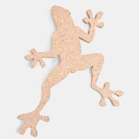 Sustainable Corkboard Frog