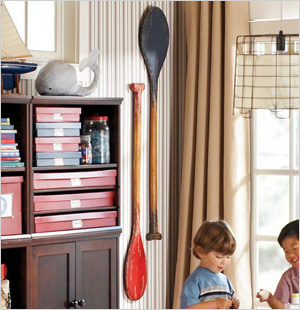 Rustic Oars, Pottery Barn Kids