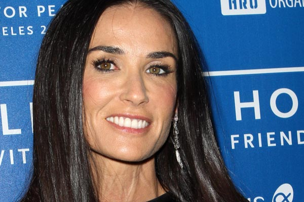 Demi Moore celebrity exhaustion