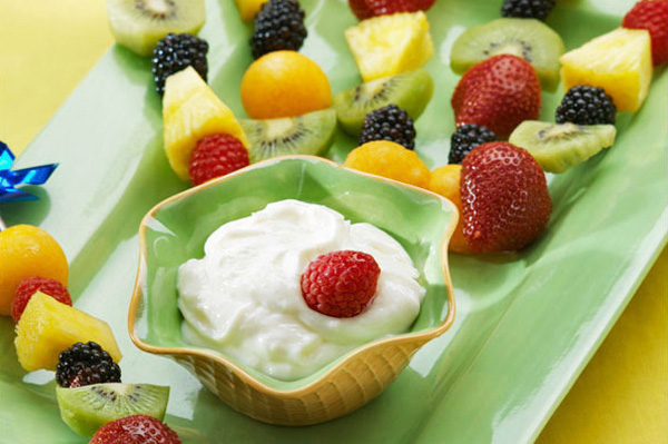 Fresh and creamy warm-weather dips