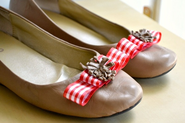 Cute, cheap way to spruce up flats