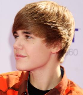 Justin Bieber's hair