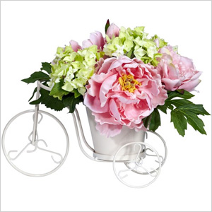 Silk flower arrangment Wayfair.com