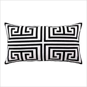 Trina Turk geometric pillow LaylaGrayce.com