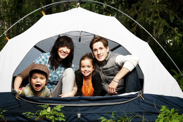Where to go camping with your family