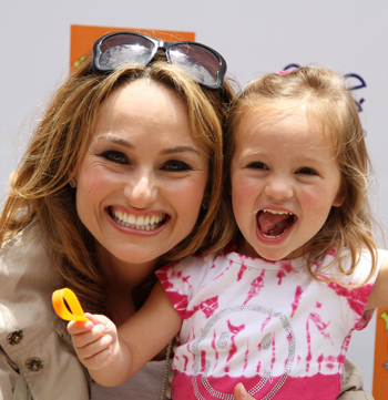Giada De Laurentiis and daughter