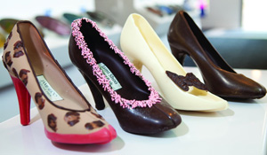 Jami Shoo Chocolate Heel ($43)