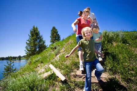 family vacations for the outdoorsy types!