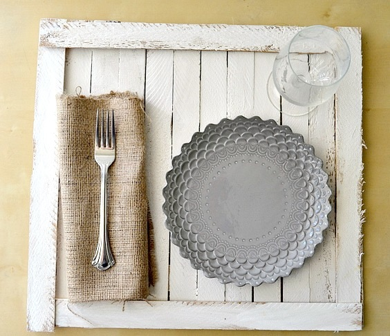 Homemade tray that's easy and beautiful