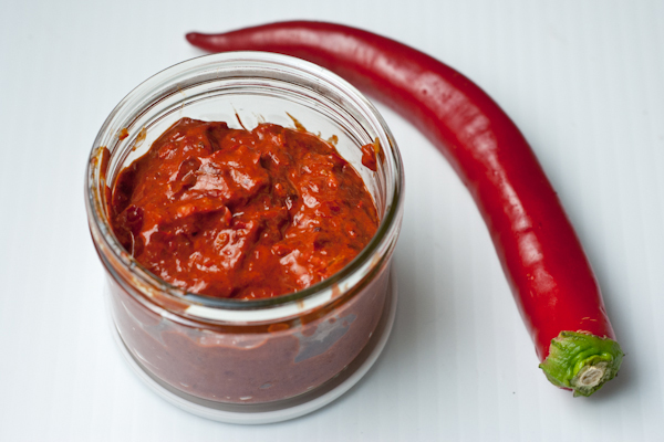 Homemade harissa recipe