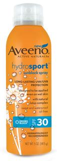 Aveeno Hydrosport Sunscreen Spray SPF 30