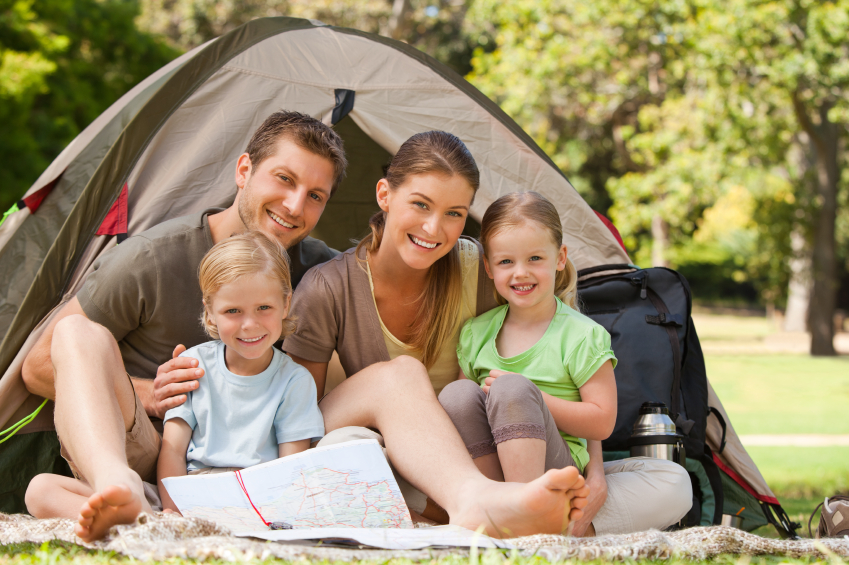 iStock 000016393748Small ... for amateur campers or those with young kids that want the outdoor ...