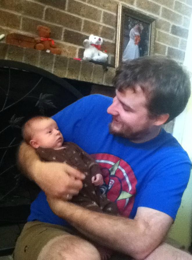 new dad Jason
