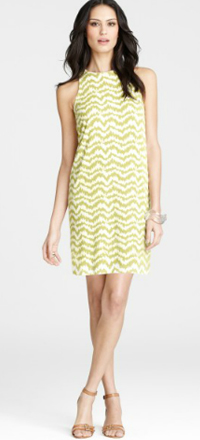 Ann Taylor's Stylish Forms Print Sheath Dress