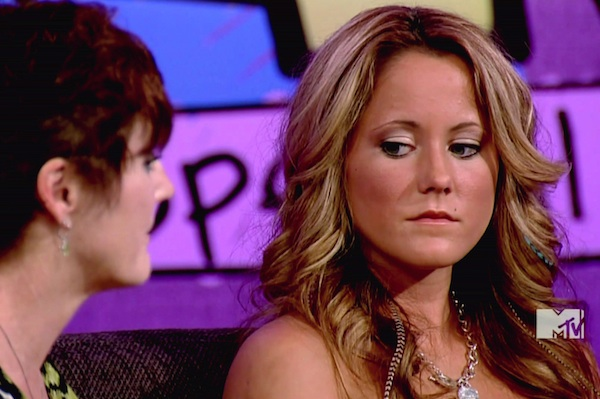 Jenelle Evans shows off new boobs, naked pictures are leaked.