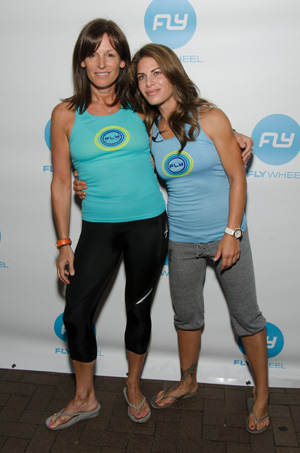 Jillian Michaels and Ruth Zuckerman