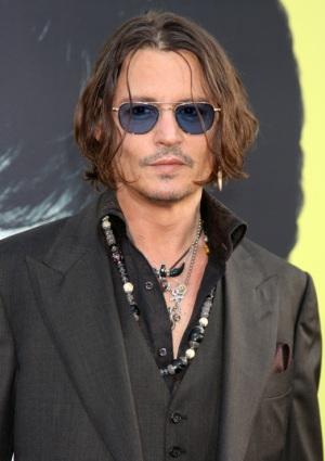 Johnny Depp visits Ellen DeGeneres