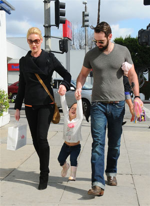 Katherine Heigl talks about her new adopted daughter