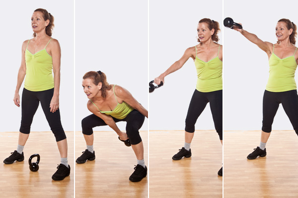 Kettlebell Single-Arm Swing