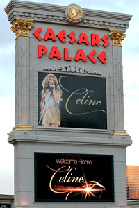 Celine Dion in Las Vegas