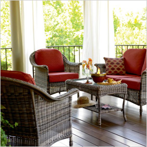 Royston 4-piece deep seating set