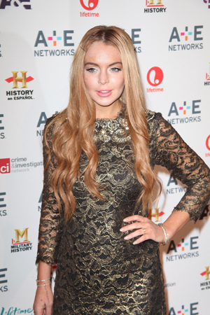 lindsay lohan redecorates new home