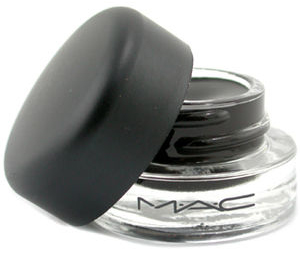 MAC Fluidline gel eyeliner and Make Up For Ever Full Cover Concealer