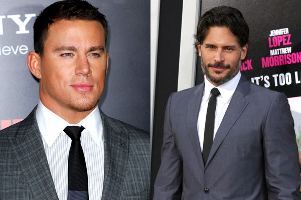 Joe Manganiello and Channing Tatum star in Magic Mike