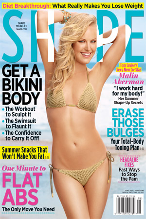 Malin Akerman talks Tom Cruise in Shape