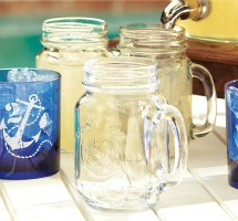 mason jar mugs