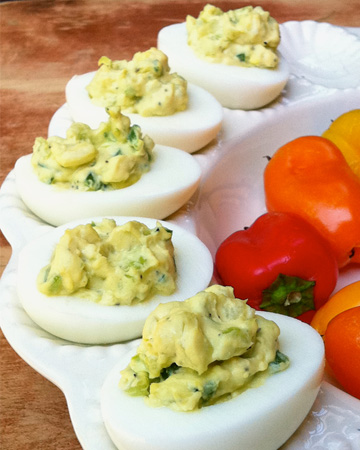  Jalapeo deviled eggs