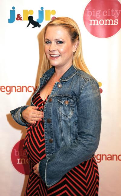Pregnant Melissa Joan Hart
