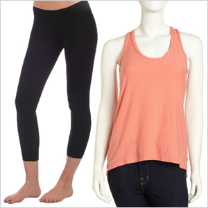 Layering Tanks and Leggings