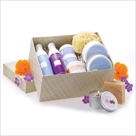 Lather Spa Delux Gift Set