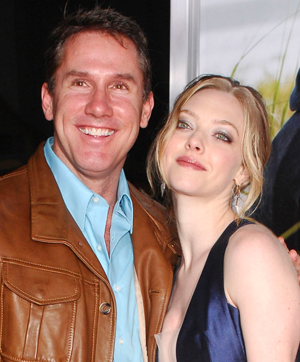 Nicholas Sparks and Amanda Seyfried