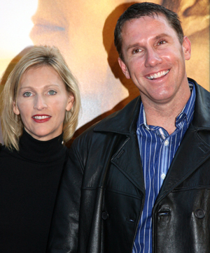Nicholas Sparks and wife Cathy Cole