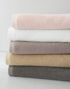 Eileen Fisher Organic Cotton Spa Towels