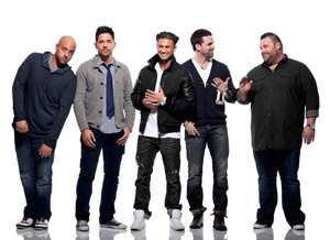 The cast of MTV's The Pauly D Project