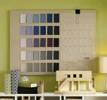 linen pinboard