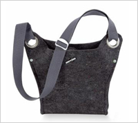 Ibex Reclaimed Wool Felt Bag