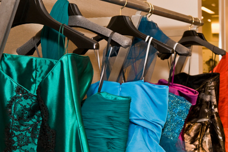 Donate your prom dresses!