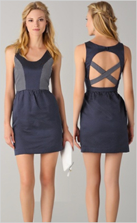 Crisscross and cut outs