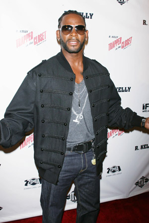 R. Kelly has new songs on a new album, Write Me Back.