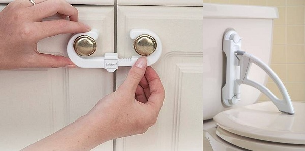 Recalled Safety First cabinet & toilet locks