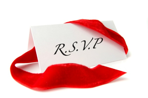 Your guide to a proper RSVP