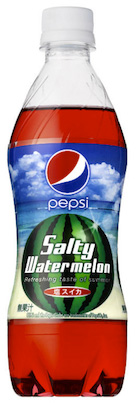 New Pepsi flavor: Fruity and salty